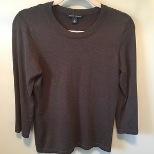 Banana Republic brown sweater, size medium